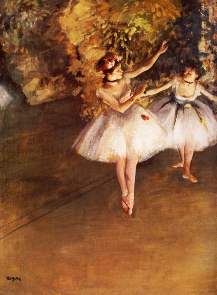 los poetas malditos - degas bailarinas