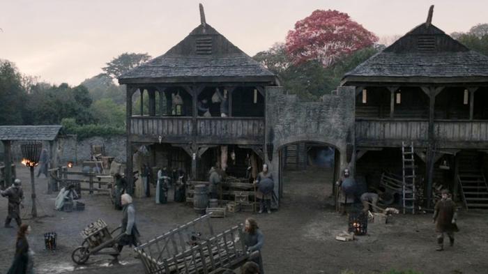 lugares de game of thrones norte