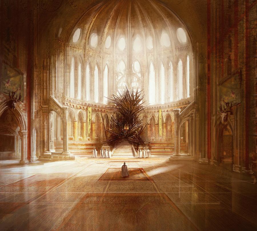 lugares de game of thrones trono