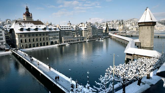 lugares hermosos de Europa Lucerna