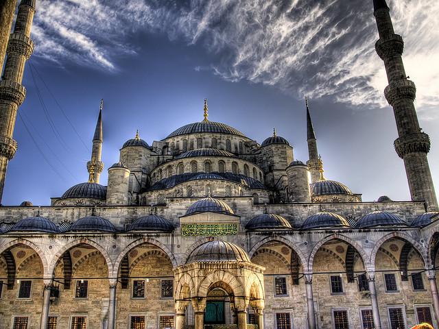 lugares hermosos de Europa Mezquita Azul