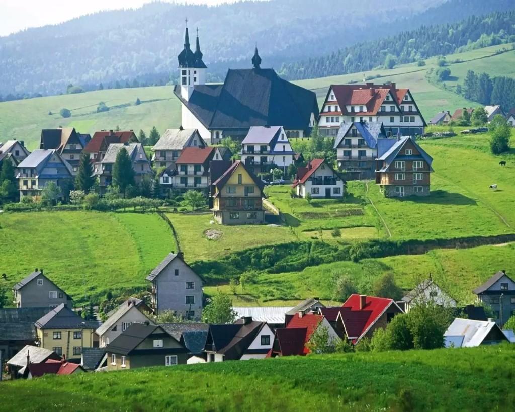 lugares hermosos de Europa Tartra