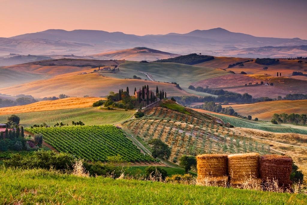lugares hermosos de Europa Toscana