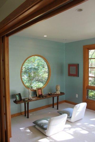 6 pasos para construir un espacio de meditaci n en tu casa dise o - Salas de meditacion ...