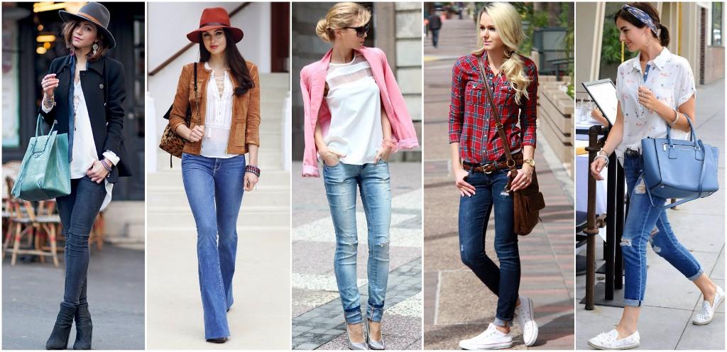 mezclilla jeans mujer