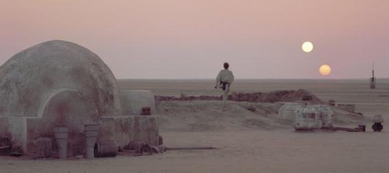 mitos del espacio Luke Tatooine