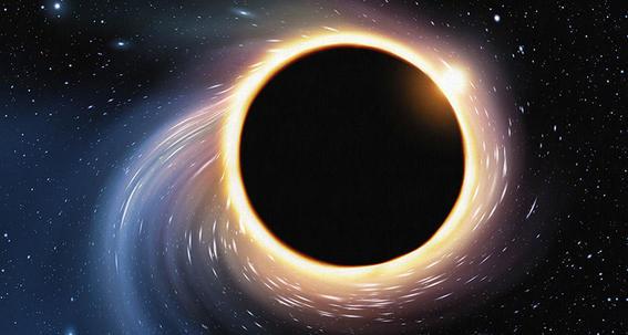mitos del espacio black hole