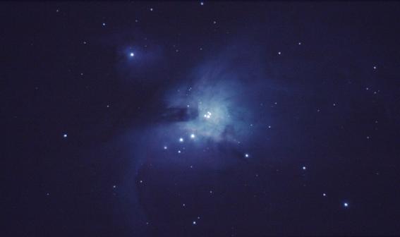 mitos del espacio Orion luz visible