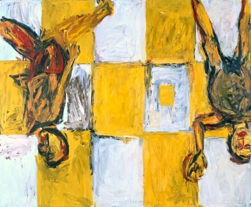 neoexpresionismo alemán amarillo