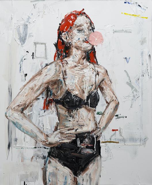 neoexpresionismo cuadro mujer