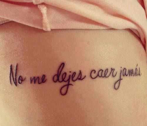 Tatuajes Que Te Demostrarán Que Las Frases En Español También Se Ven
