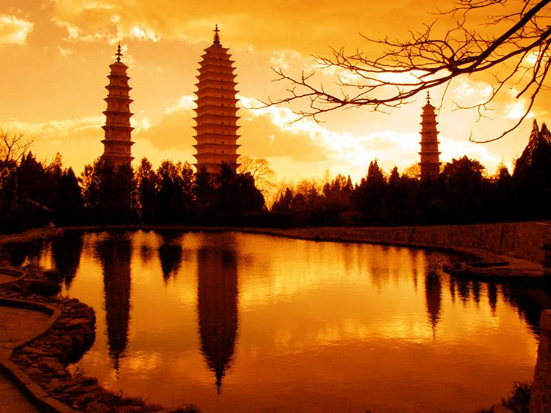 pagodas  / viajar a china
