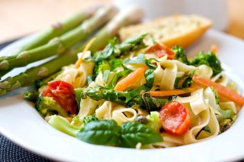 Pasta primavera | cenas nutritivas