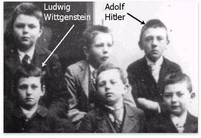 historia de Hitler y Wittgenstein