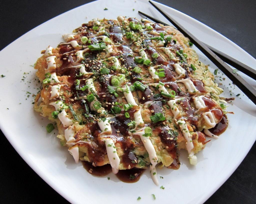 platillos japoneses okonomiyaki