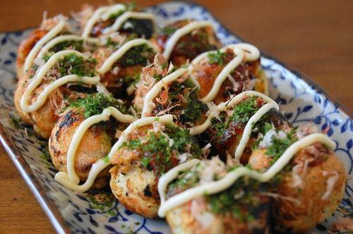 platillos japoneses takoyaki
