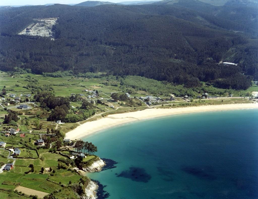 playas secretas viveiro aerea