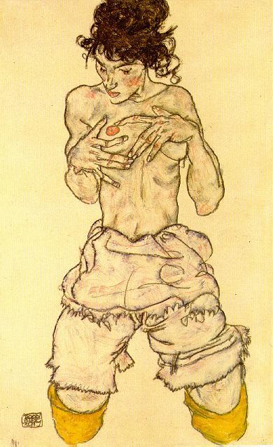 poderes sexuales Schiele