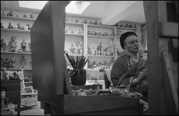 quien fue frida kahlo pintando