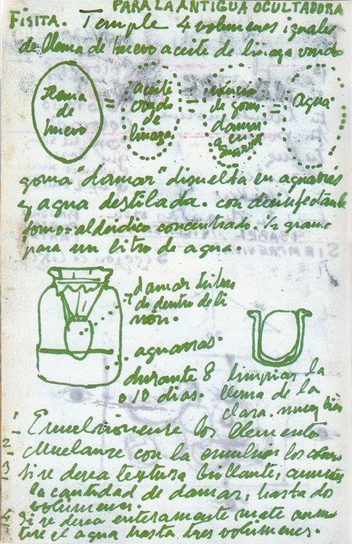receta de frida kahlo receta