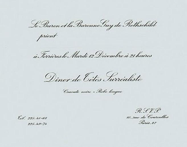 rothschild  invitacion