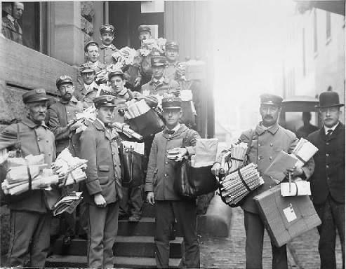 servicios de correo mensajeros