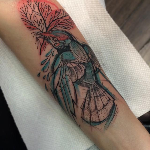 sketch tattos ave color
