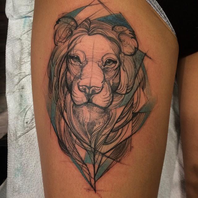 sketch tattos leon