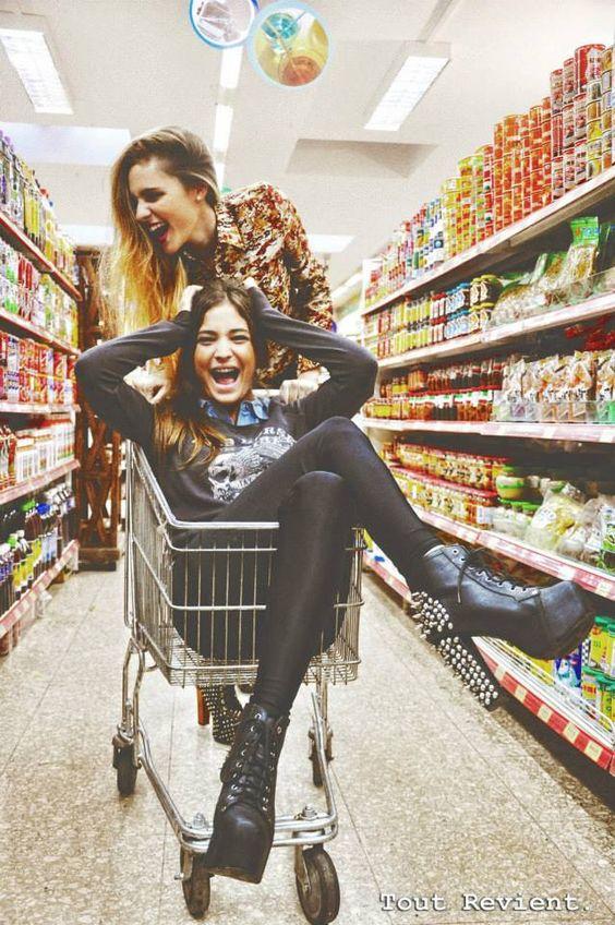 supermercado las mejores amigas