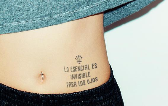 Tatuajes Con Frases Para Un Hijo tatuajes que te demostrarán que las frases en español también se ven