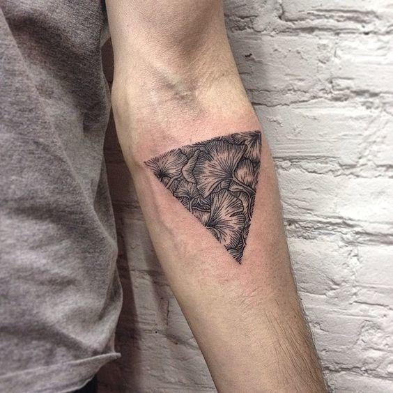 tatuajes japoneses triángulo