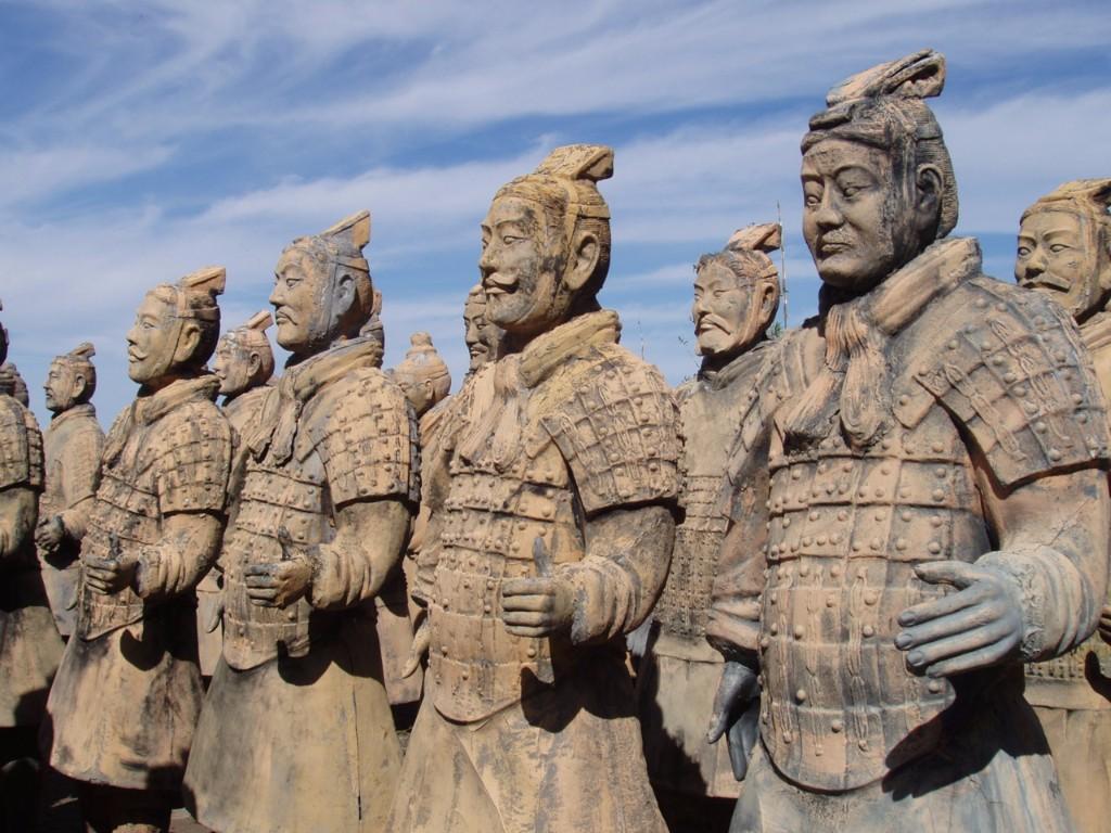 Terracota warriors   / viajar a china