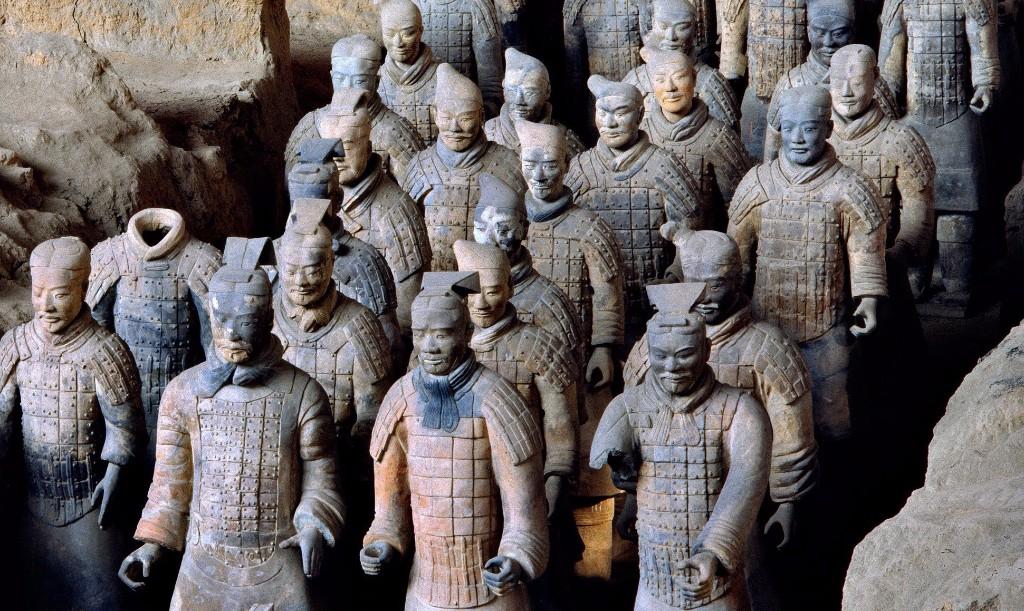 Terracota  / viajar a china