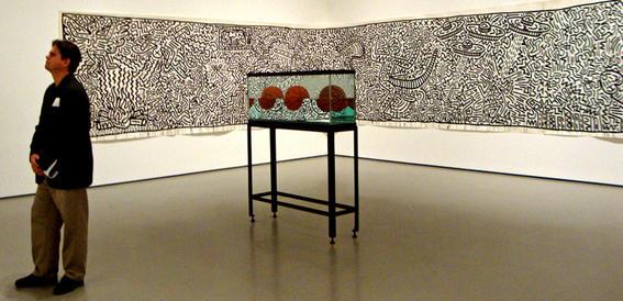 ver arte contemporaneo hirst