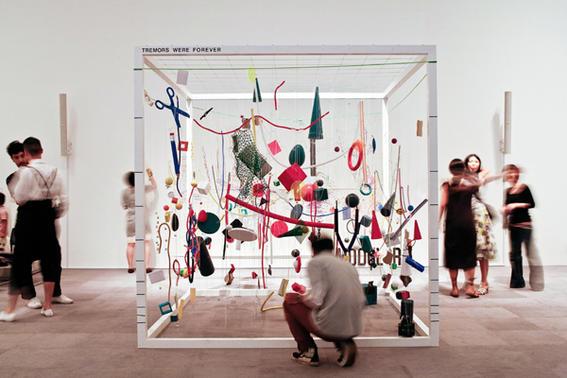 ver arte contemporaneo instalacion
