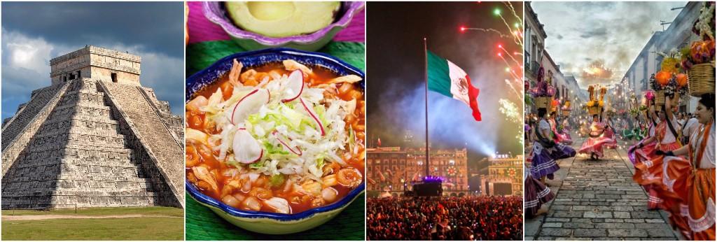 viajar a mexico collage