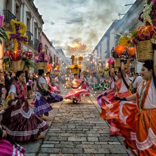 viajar a mexico guelaguetza