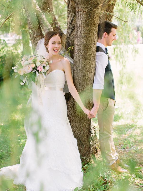 Ver el vestido de novia antes de casarse