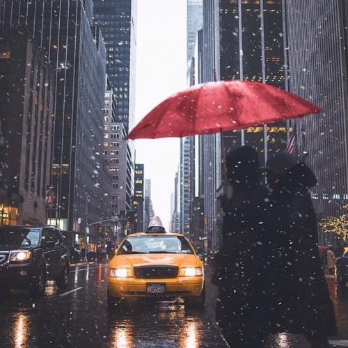 bandas de new york lluvia