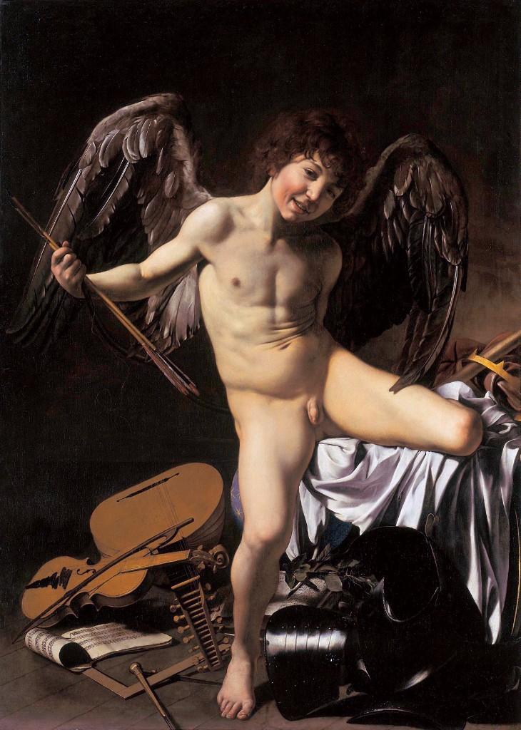 caravaggio desnudos en el arte