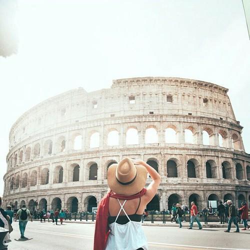 viajar joven / roma