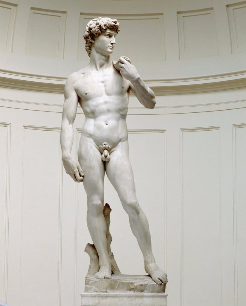 david desnudos en el arte