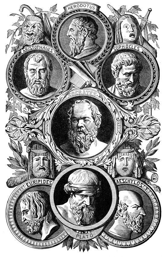 Resultado de imagen de Los grandes pensadores de la Grecia clásica