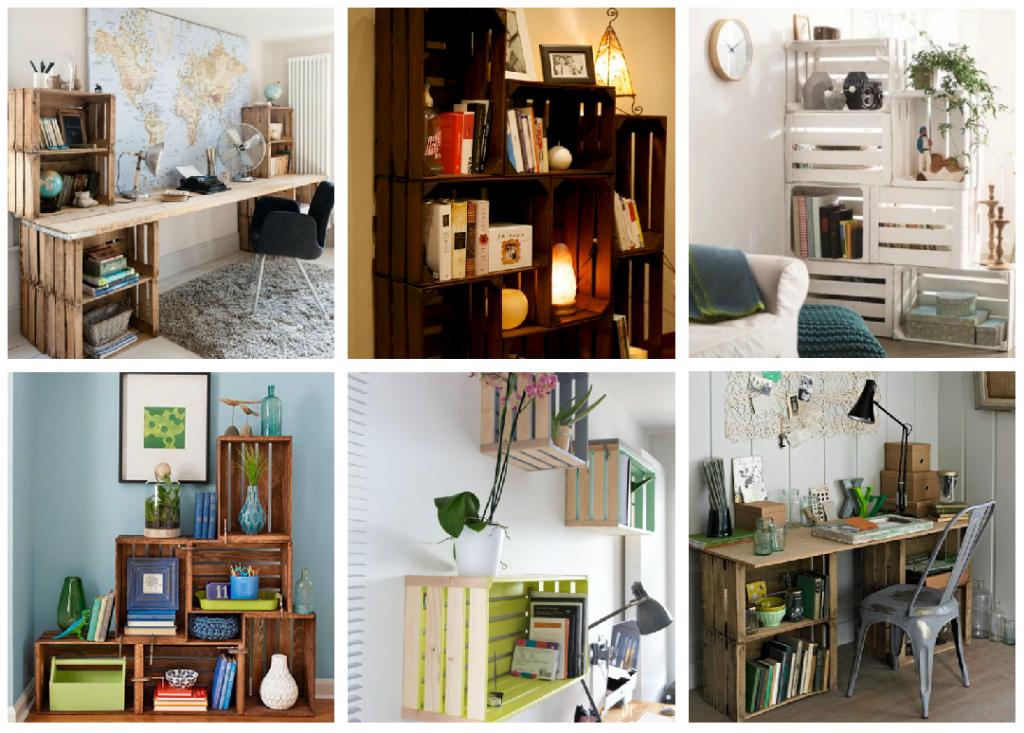 9 ideas para hacer un librero sin gastar dise o for Libros de muebles de madera