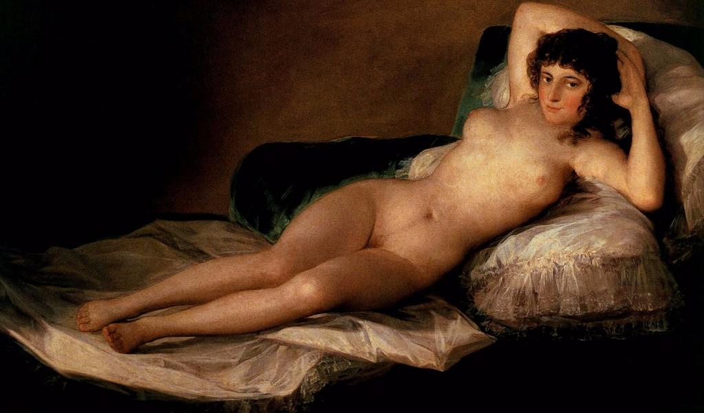 maja desnuda desnudos en el arte