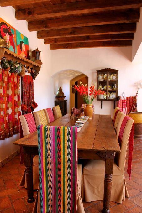 mesa decoracion rustica