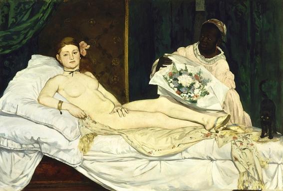 olympia desnudos en el arte