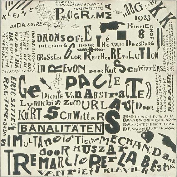 el dadaísmo / poema