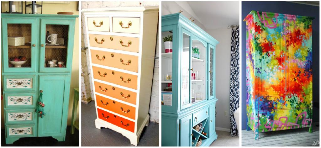formas de reciclar tus muebles viejos y en algo diferente y til