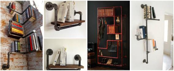 9 ideas para hacer un librero sin gastar dise o for Diseno de libreros para espacios pequenos